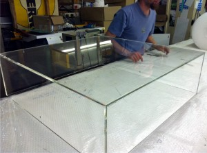 Perspex Box in Manufacture